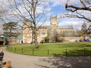 SUnny Wells cathedral