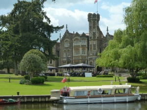 Oakley Court - now a hotel