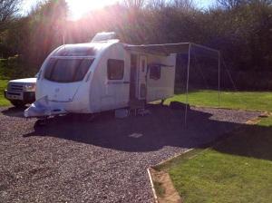 Brighton van on site