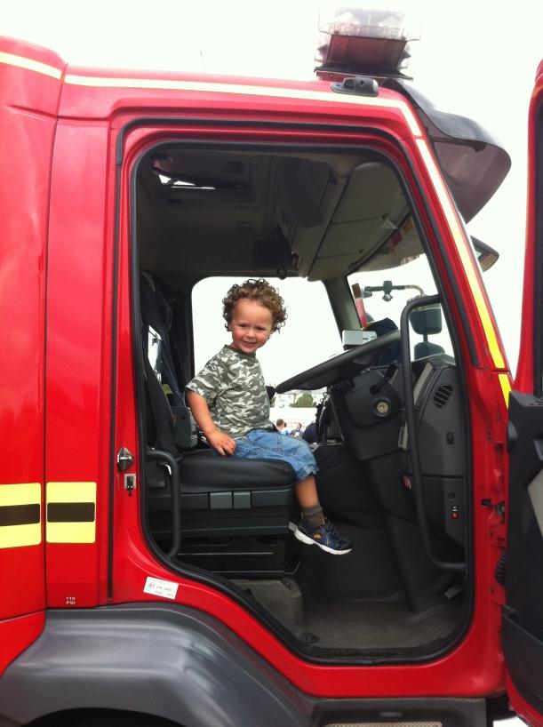 Lenny fire engine
