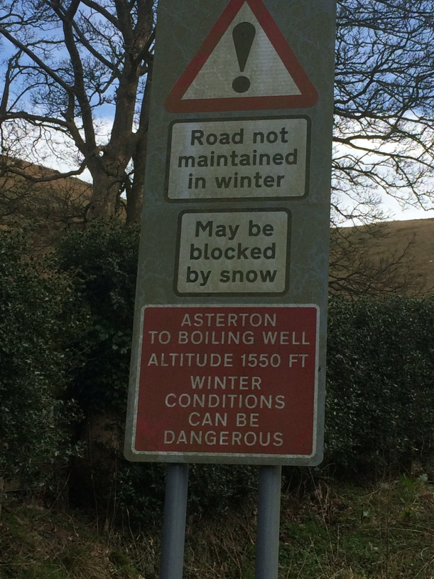 Hmm - glad it's not winter!