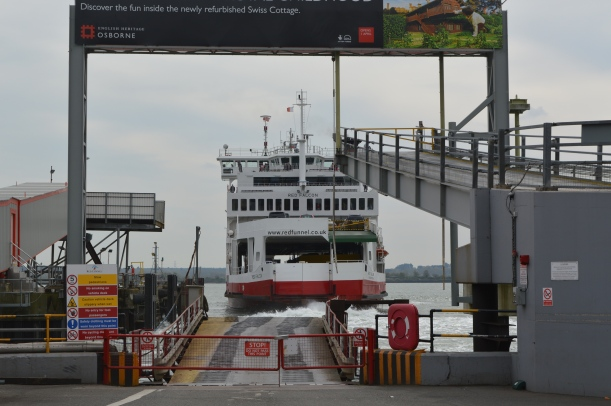 """Our"" ferry approaching"