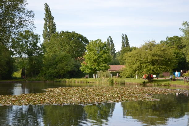 The lake at Horsley C&CC Site