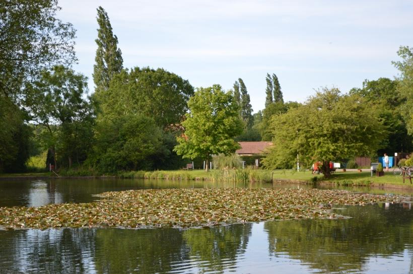 The lake at Horsley C&CC Site