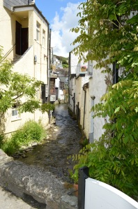 Winding streets
