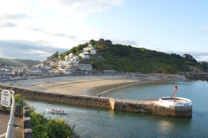 Looe from above