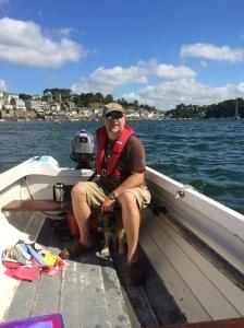 Our gallant skipper