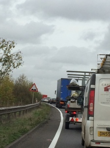 A34 Friday traffic