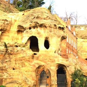 Nottingham Castle cave