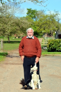 His Master's Voice - Uncle D and a Grove Farm dog