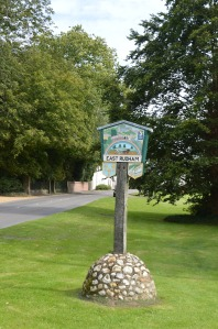 East Rudham signpost
