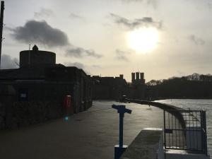 Caernarfon - strange kight