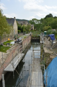 Bow Bridge Lock restoration project