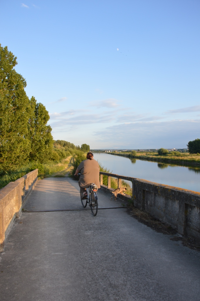 Rear view - L'Aa canal