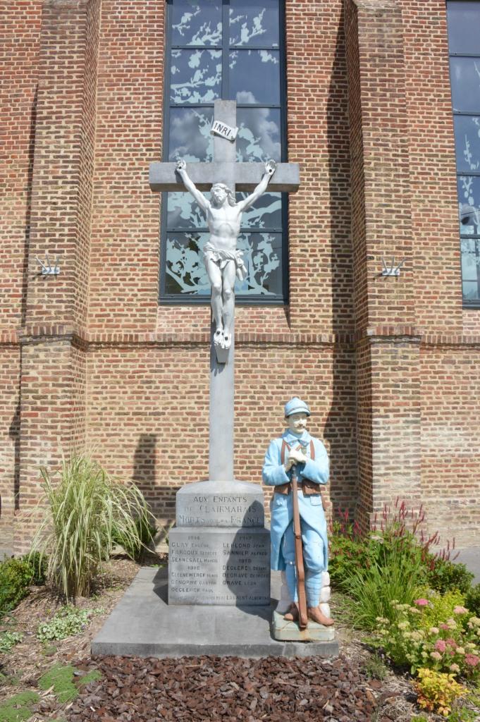 War memorial - Clairmarais