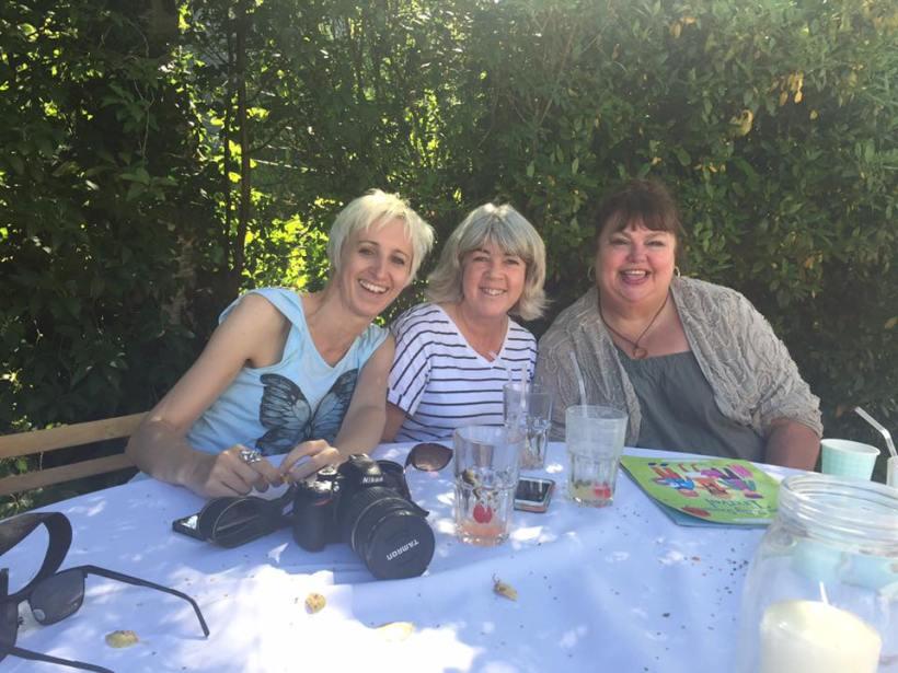 Anne, Linda and me
